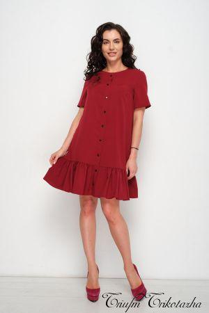 Платье Одри Бордо