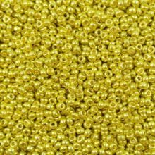 Бисер чешский 18586 золотой металлик Preciosa 1 сорт
