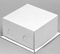 Короб картонный для тортов  210*210*100мм