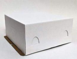 Короб картонный для тортов  280*280*140мм