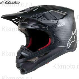 Шлем Alpinestars Supertech S-M10 Solid, Черный