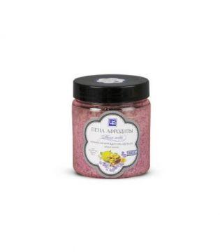 """Соль морская """"Пена Афродиты"""" с эфирными маслами бергамота, кардамона, 500 гр"""