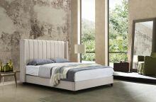 Кровать RACHEL SK22 180*200 молочный (601-7) с/осн