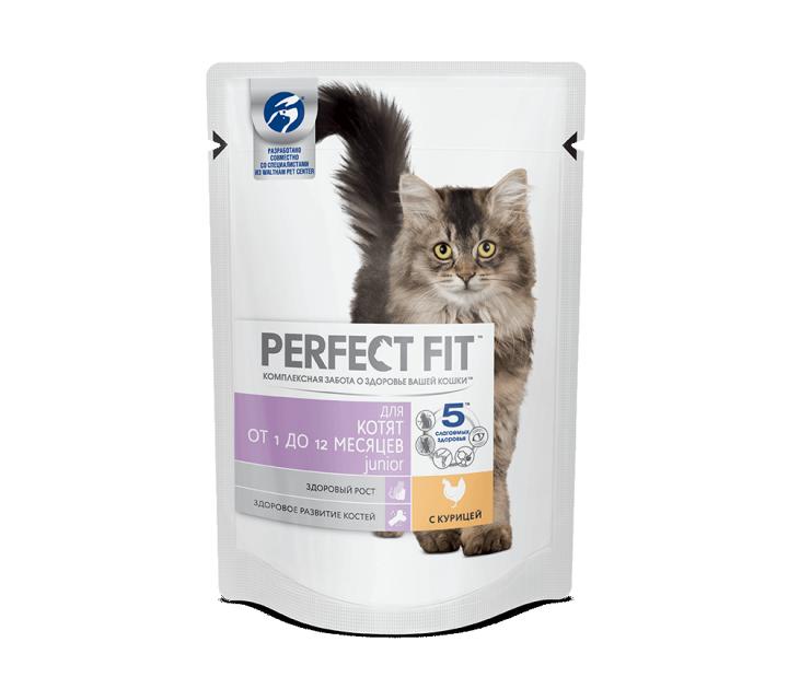 Перфект фит 85г пауч для котят