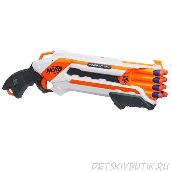 Бластер Nerf N-Strike Elite Rough Cut 2х4 «Элит Рафкат» Hasbro