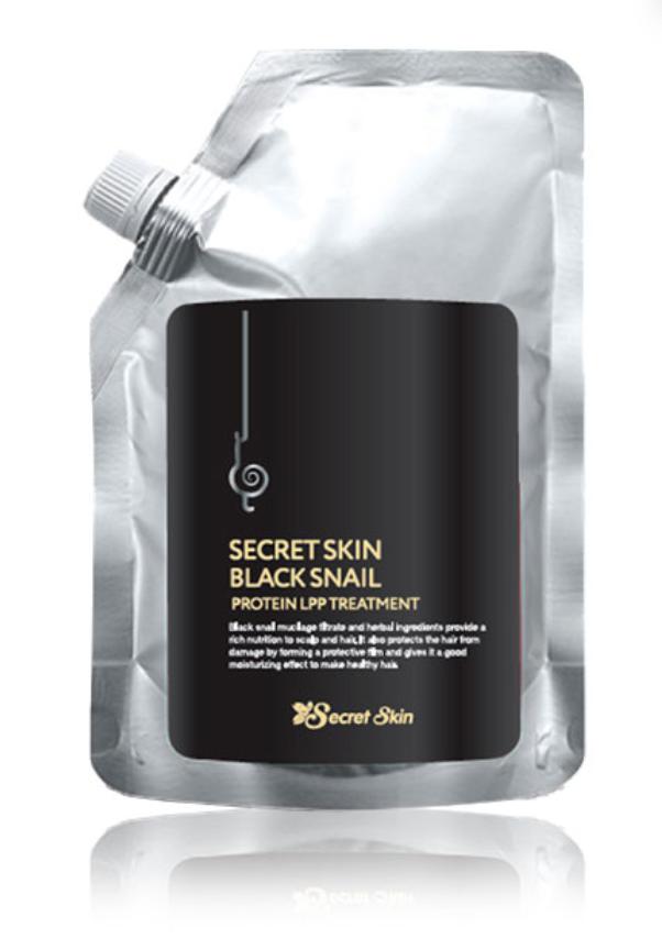 Маска для ламинирования волос SECRETSKIN BLACK SNAIL PROTEIN LPP TREATMENT 480гр