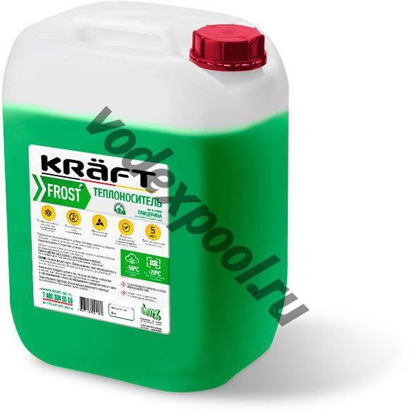Теплоноситель KRAFT BIO FROST 10 кг
