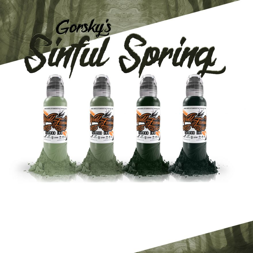 World  Famous Ink GORSKY'S Sinful Spring