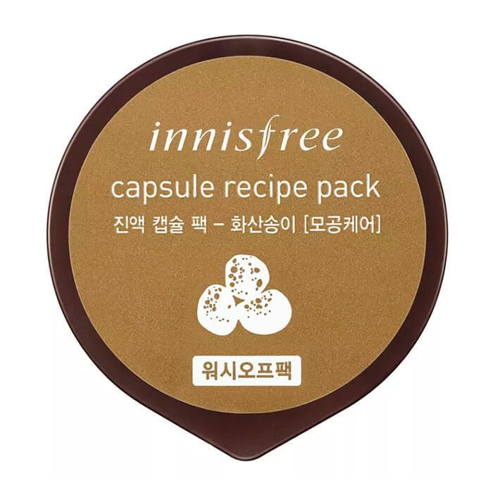 Капсульная маска с вулканическим пеплом Innisfree Capsule Recipe Pack Jeju Volcano