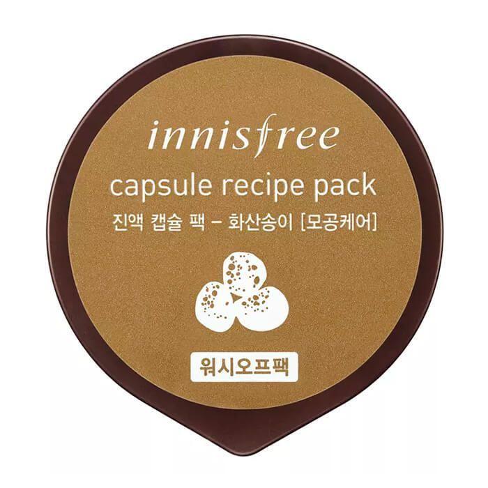 Капсульная маска с вулканическим пеплом Innisfree Capsule Recipe Pack Jeju Volcano