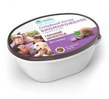 Биомороженое Семейный Актив Горький шоколад, 450 гр