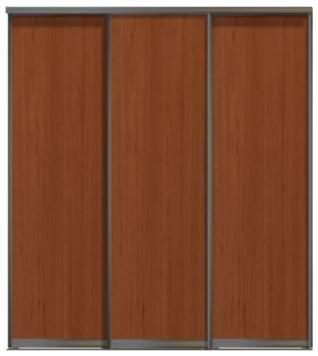 Трехдверные двери купе - ЛДСП или глухие.