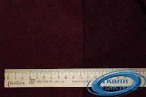 """Сукно """"ворса"""" Пальтовая ткань  113-1712/C#B11 бордо"""