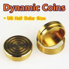 Dynamic Coins (US Half Dollar Size)