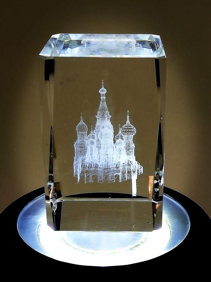 Куб сувенирный Москва Собор Василия Блаженного