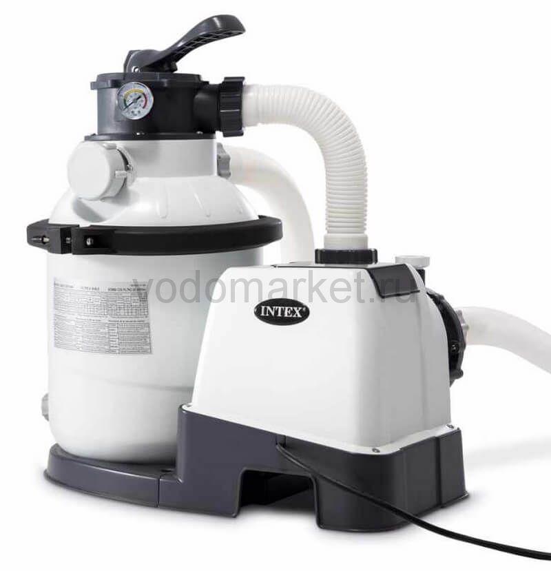 Фильтр-насос песочный для бассейна Intex, 4000 л/ч (26644)