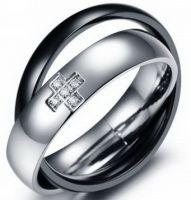 Двойное кольцо 01-370ST034m