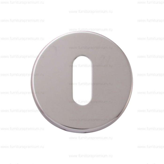 Накладка круглая на межкомнатный замок Forme 50 PVC