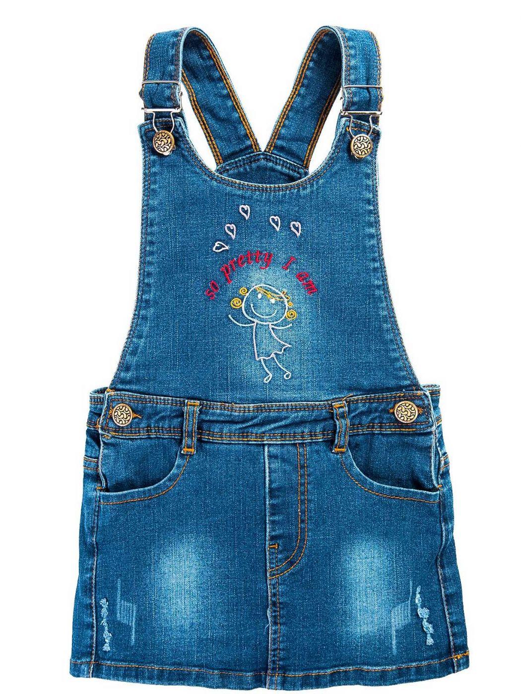 Сарафан джинсовый для девочки 3-7 лет Bonito BJ742C2