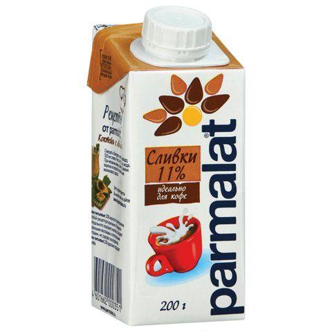 Сливки для кофе Пармалат 11% 200мл. Белгород