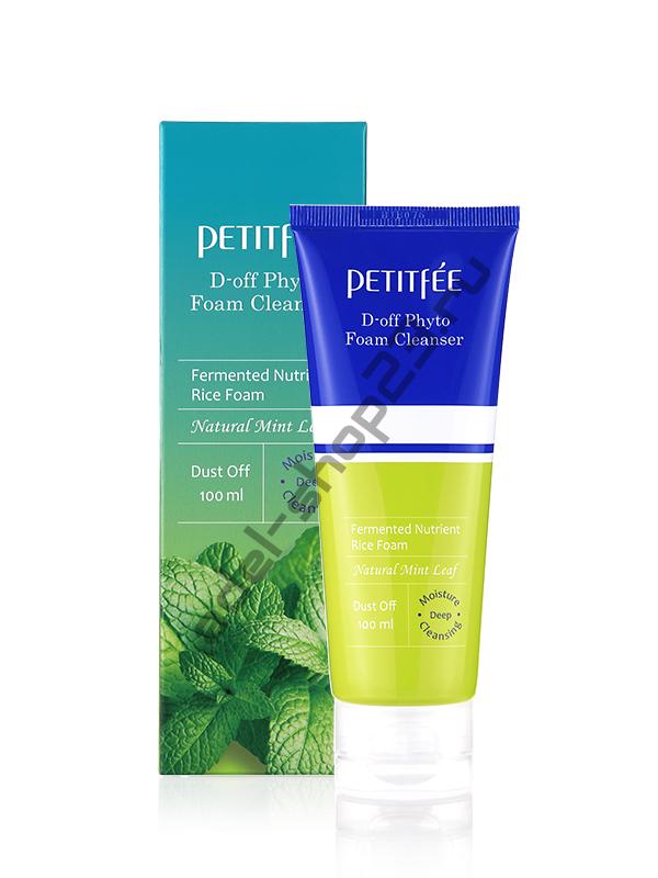 PETITFEE - Фито-пенка для умывания D-off Phyto Foam Cleanser