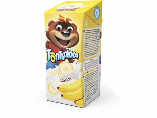 Коктейль молочный Топтыжка банан 3,2% 200г Ижевск