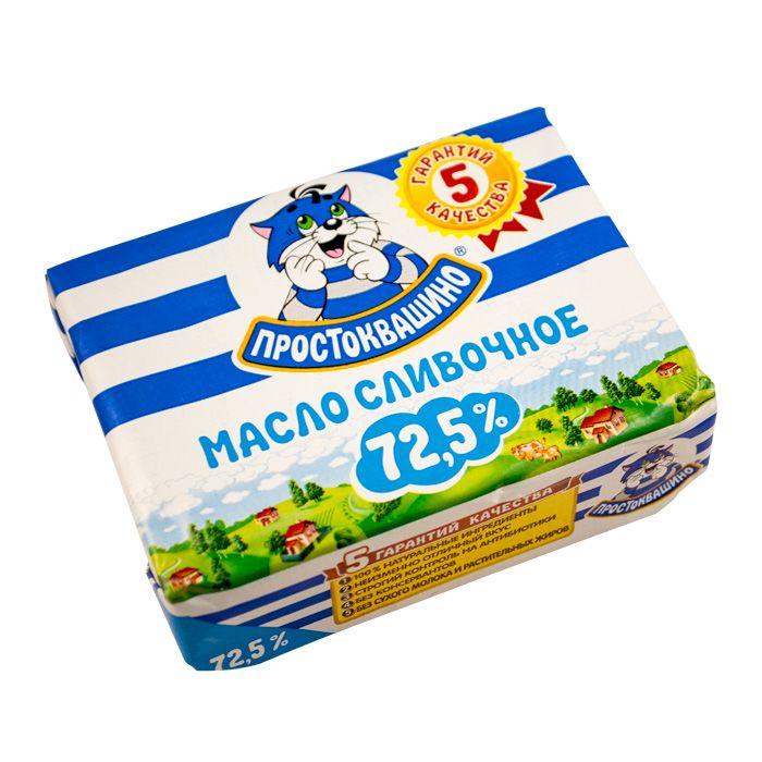 Масло Простоквашино в/с 72,5% 180г Юнимилк