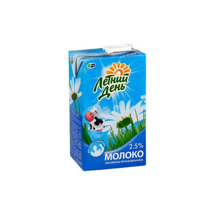 Молоко Летний день 2.5% т/п 950мл. Юнимилк