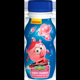 Йогурт Смешарики питьевой Бабл Гам 200гр. Данон Индустрия
