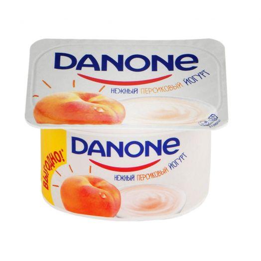 Йогурт Данон 7 полезных свойств персик 110г Данон Индустрия