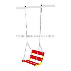 Качели со спинкой на цепях Romana