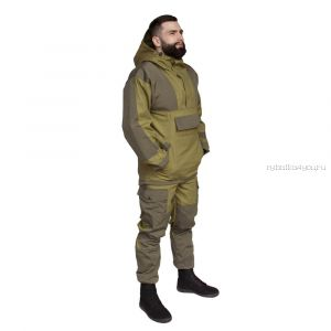 Костюм Горка-Анорак куртка/брюки, ткань палаточная ГОСТ 100% х/б /хаки (Артикул: OPR004-01)