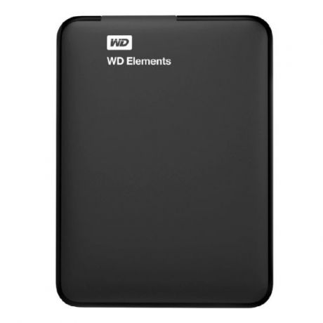 "Внешний HDD WD 1 TB Elements SE Portable чёрный, 2.5"", USB 3.0"