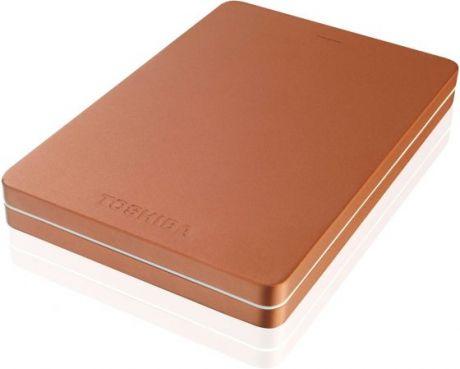 "Внешний HDD Toshiba 500 GB 3S Stor.e Canvio Alu красный, 2.5"", USB 3.0"