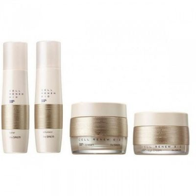 Набор уходовый антивозрастной Saem Cell Renew Bio Skin Care Special 3 Set N  150мл*150мл*60мл*30мл