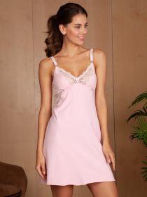 Сорочка для кормления Izabel розовый
