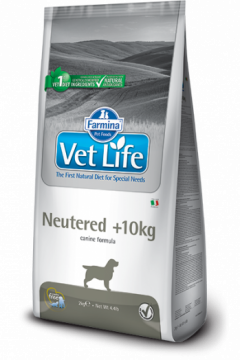 Vet Life Dog Neutered +10kg (Вет Лайф Ньютрид +10кг.)
