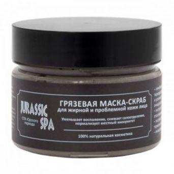 JURASSIC SPA - Маска-скраб для жирной и проблемной кожи лица, 100мл