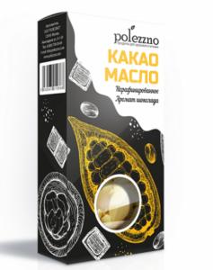 ПОЛЕЗЗНО Масло какао нерафинированное 100 г