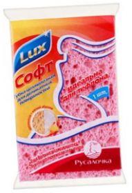 Губка д/кухни Lux SOFT из целлюлозы