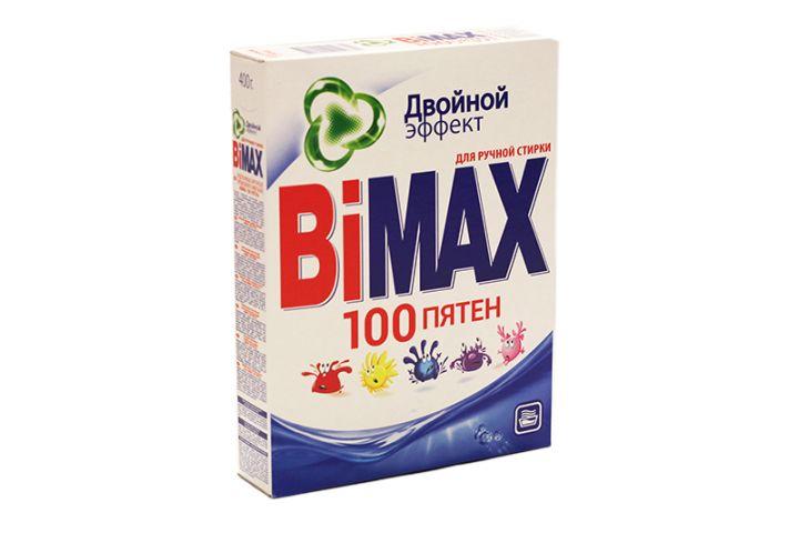 Стир. порошок BiMax 400г Ручная стирка 100 пятен фн