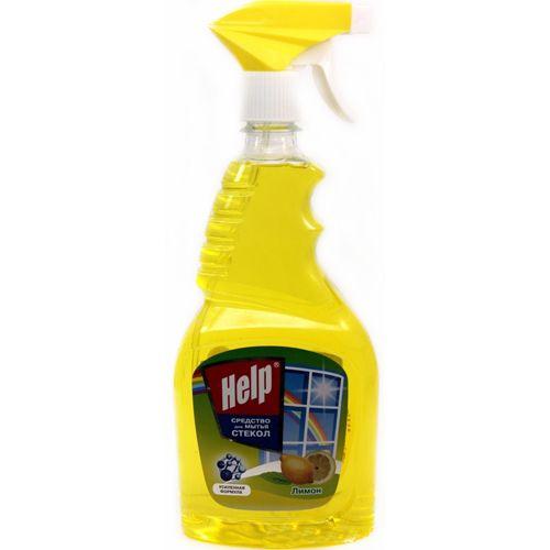 Средство д/стекол Help 750мл Лимон курок
