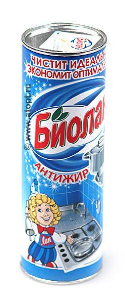 Чист.средство Биолан 400г Анти-жир фн