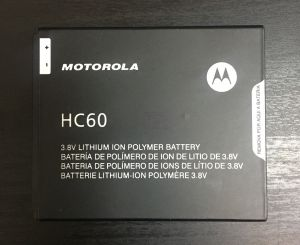 Аккумулятор Motorola XT1723 Moto C Plus (HC60) Оригинал
