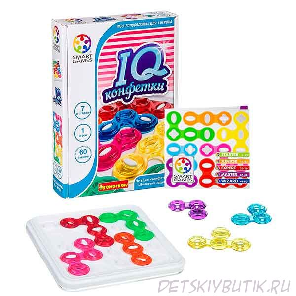 Логические игры Bondibon для девочек
