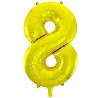 Фигура Цифра 8 Gold 99см