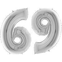 Фигура Цифра 6/9 Silver 99см