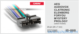 Carav 15-111 (Audiovox/AEG/Mystery/Prology/Elenberg (14pin))