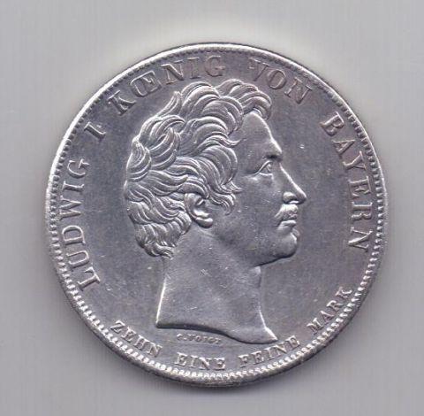 1 талер 1828 года Бавария Семейный
