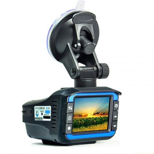 Видеорегистратор-Антирадар (2 в 1) Radar Video Recording Machine